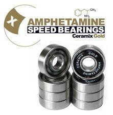 AMPHETAMINE Ceramix Gold Bearings - Keramik Kugellager für Skateboard/Longboard