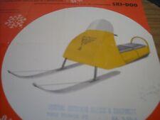 1960 Vintage BOMBARDIER SKI DOO Snowmobile Brochure Tincab