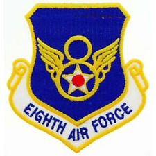 """UNITED STATES  AIR FORCE  """"EIGHTH AIR FORCE"""" PATCH   3"""" wide x 3"""" tall"""