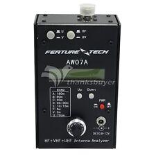 HF/VHF/UHF 160M Impedance SWR Antenna Analyzer AW07A for Ham Radio