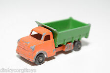TUF-TOTS TUF TOTS LONE STAR DUMPER DUMP TIPPER TRUCK ORANGE GREEN GOOD CONDITION