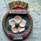 HMCS RCNA Vancouver : Canada Navy Ship Metal Tampion Plaque Crest