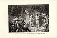S.P.HALL -  GRAND DUKE ALEX IS  - WOOD ENGRAVING FROM 'THE PRINCE'TOUR' (1877)
