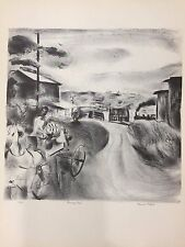 "A Treasury of American Prints, Francis Chapin ""Morning Train"", 9 1/4"" x 11 1/2"""