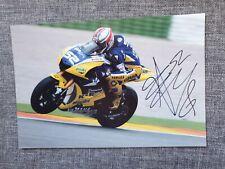 James toseland/superbikes 7x5 genuine hand signed 7x5 photo card coa 1436