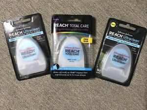 Reach Ultraclean Mint Flavored Dental Floss 30 Yards Discontinued Product