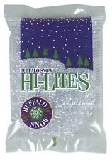 Buffalo Snow HI-LITES IRIDESCENT STRANDS glitter artificial crafts village 0.5oz