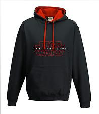 Star Wars The Last Jedi Red & Black Hoodie Top clothing mens ladies kids