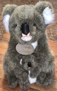 "Yomiko Classics Mommy and Baby Koala Joey Plush Stuffed 11"" Russ Pre-Owned EUC"