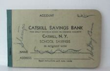 Vintage Catskill Savings Bank School Savings Account Book Catskill New York
