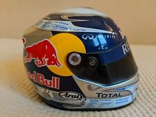 Sebastian Vettel Red Bull can helmet 1/2 F1