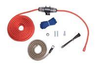 Rockford Fosgate RFK8 8 AWG Power Only Amplifier Install Kit