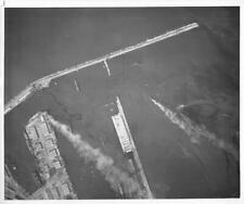 Wwii, *Casablanca, French Morroco*Burning French Ships In Photo #Ww93