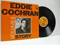 EDDIE COCHRAN story volume 4 LP EX/EX-, LBS 83 433 vinyl compilation, rockabilly