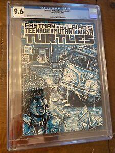 Mirage Teenage Mutant Ninja Turtles #3 CGC 9.6 White Pages 1985 TMNT