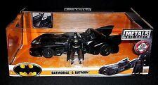 BATMAN Original Movie BATMOBILE w Action Figure DC Comics Die Cast Metal Car lot