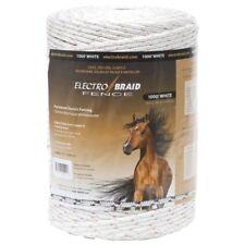 Electrobraid PBRC1000W2-EB Horse Fence.  1000 Feet Reel of White