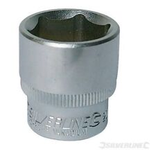 Silverline Metric Hex Socket 3/8'' Square Drive LIFETIME GUARANTEE 10mm