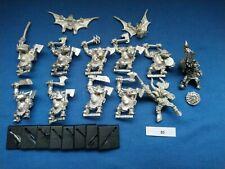 Warhammer Black Orcs x 11 - Fantasy Battle - Metal - AOS - OOP