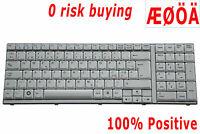 Nordic Danish Swedish Finnish Norsk DK Laptop Keyboard for LG R710 Tastatur
