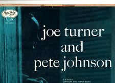 """RARE Blues""."" BIG ""Joe Turner e Pete Johnson. ORIG U.S. LP (1955). EX +/EX"