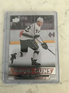 2013-14 TYLER TOFFOLI UPPER DECK YOUNG GUNS NEW HAB