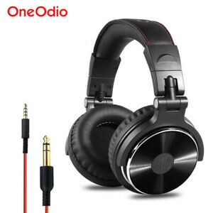 OneOdio DJ Headphones Adapter-free Closed Back Over-Ear Stereo Monitor Headset
