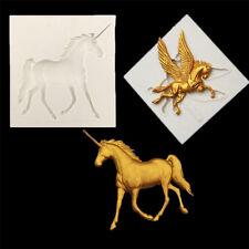 DIY Kuchen Schokolade Einhorn Form Pegasus Silikon Fondantform Fliegendes Pferd