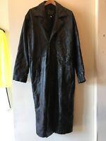 Navarre Italian Vintage Leather Coat Sz. XXL