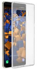 mumbi Hülle für Samsung Galaxy Note 8 Schutzhülle Slim Case Tasche Transparent