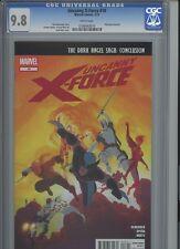 Uncanny X-Force 18 CGC 9.8 Rick Remender Marvel
