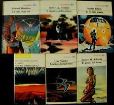 Lotto stock di 6 romanzi fantascienza La Tribuna Galassia / titoli in foto e ins