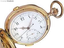"""Taschenuhr """"Repetition und Chronograph"""" Gold ca. 1900"""