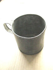 Civil War Soldier Personal Item Tin Mess Cup