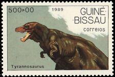 "GUINEA BISSAU 831 (Mi1085) - Prehistoric Wildlife ""Tyrannosaurus rex"" (pf70617)"