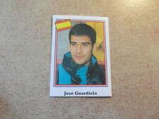 (NO PANINI) FOOTBALL STICKER ed BROCA USA 94 1994 / JOSE GUARDIOLA ESPANA