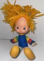 Vintage Rainbow Brite Doll 1983 Hallmark 10 inch Plush Stuffed Toy Multivol