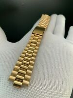 """Armis / Armband Uhren Type Tag Heuer-Rolex 19MM Bad Gold Old Lager 1970-1980 """""""