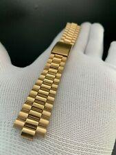 """Armis / Bracelet Montre Type Tag Heuer-Rolex 19MM Salle de Bain or """" Ancien"""