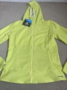 BNWT Ladies Salomon Hooded Jacket, UK Medium, Size 12 Active Dry