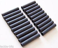 50 BLACK SILICONE RIG SLEEVES QUICK KWIK LINK SWIVELS CARP WEIGHTS HAIR RIGS