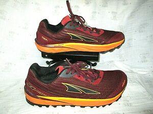 ALTRA Men's TIMP 2 Trail Running Shoe, Dark Red/Orange, 11.5 D(M) US