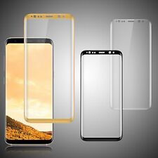 3D Panzer Glas für Samsung Galaxy Note 8 S8 S8+ Full Screen Protector Curved 9H