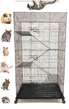 """55"""" Large 5-Floor Sugar Glider Rodents Gerbils Rats Mice Squirrel Hamsters Cage"""