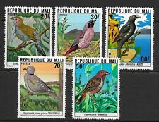 MALI 1978  Birds set of 5 MINT NH