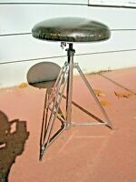 Vintage Rogers Sampson Drum Throne NICE Chrome 1969