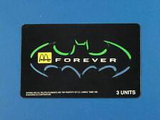 1995 Batman Forever  McDonald's Logo Limited Edition phonecard