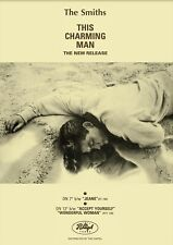 More details for the smiths poster 'this charming man' a3 size
