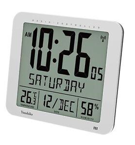 Jumbo Large Radio Controlled Wall Clock ( UK Version ) , Large 3.27 inches Time