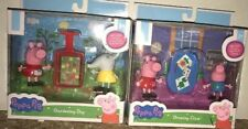 Nib Peppa Pig Drawing Class And Gardening Day Toy Figures